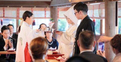 神社仏閣での結婚式